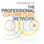 Logo signifying membership of the Professional Copywriters' Network