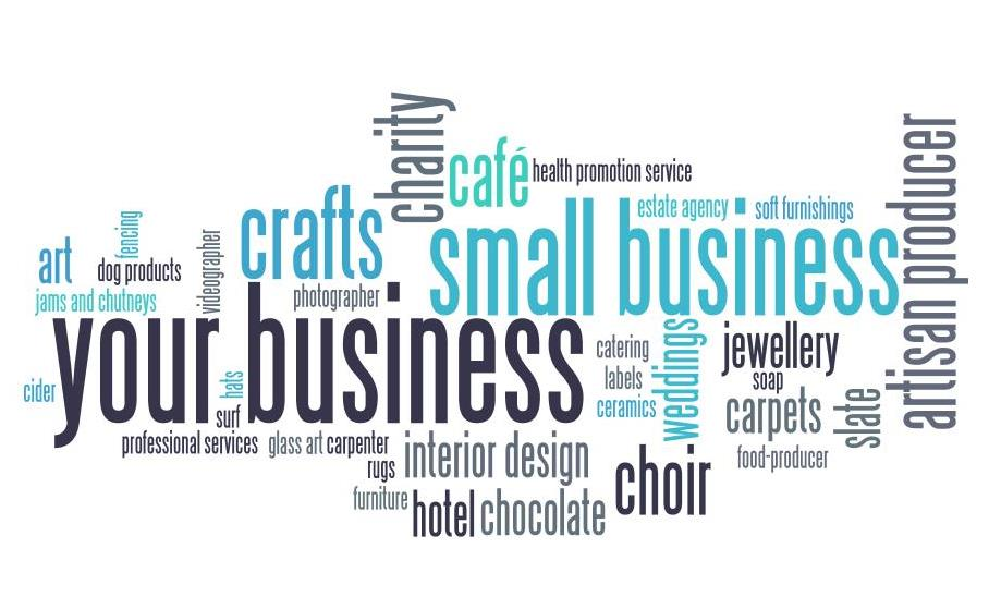 wordle illustrating different types of customers