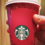 Starbucks' red cup from winter 2015