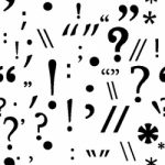 collection of punctuation marks
