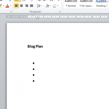 Putting together a blog plan that works for your business